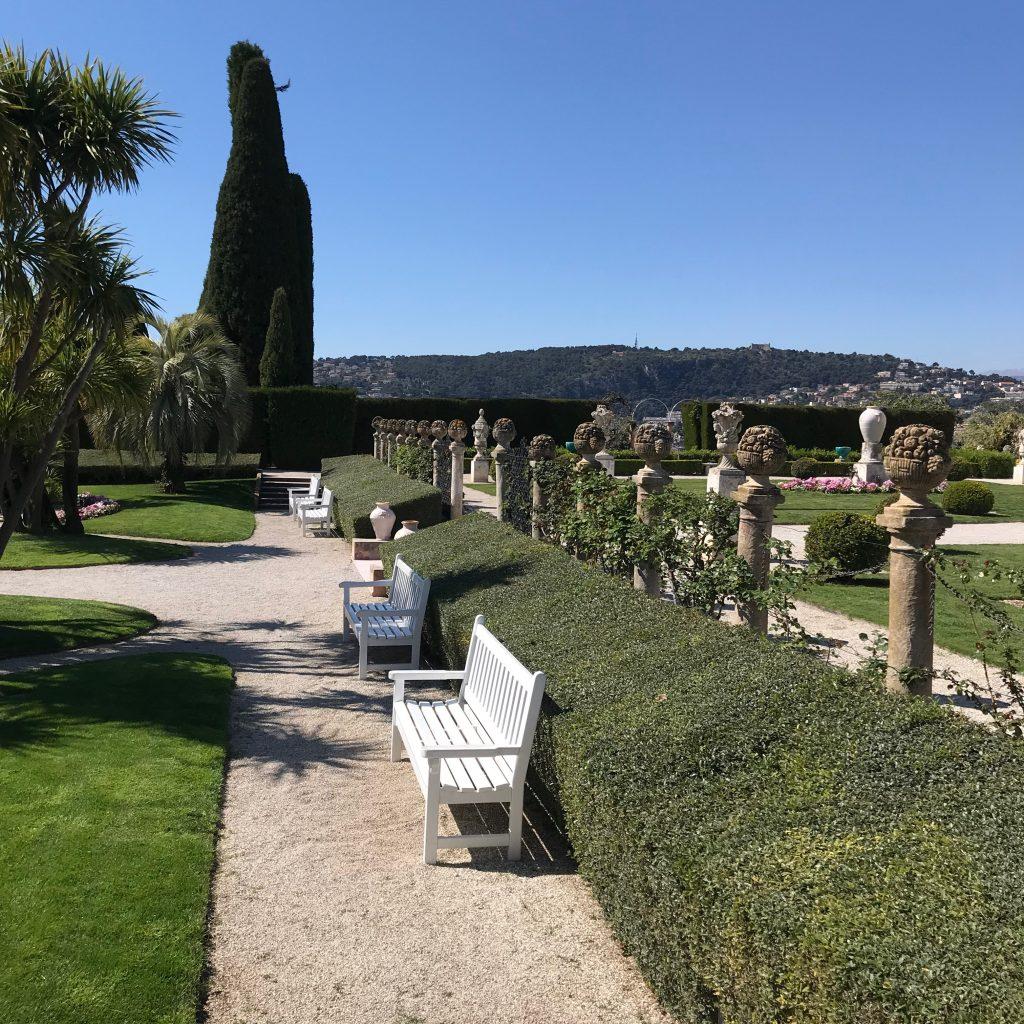 gardens at the Villa Ephrussi