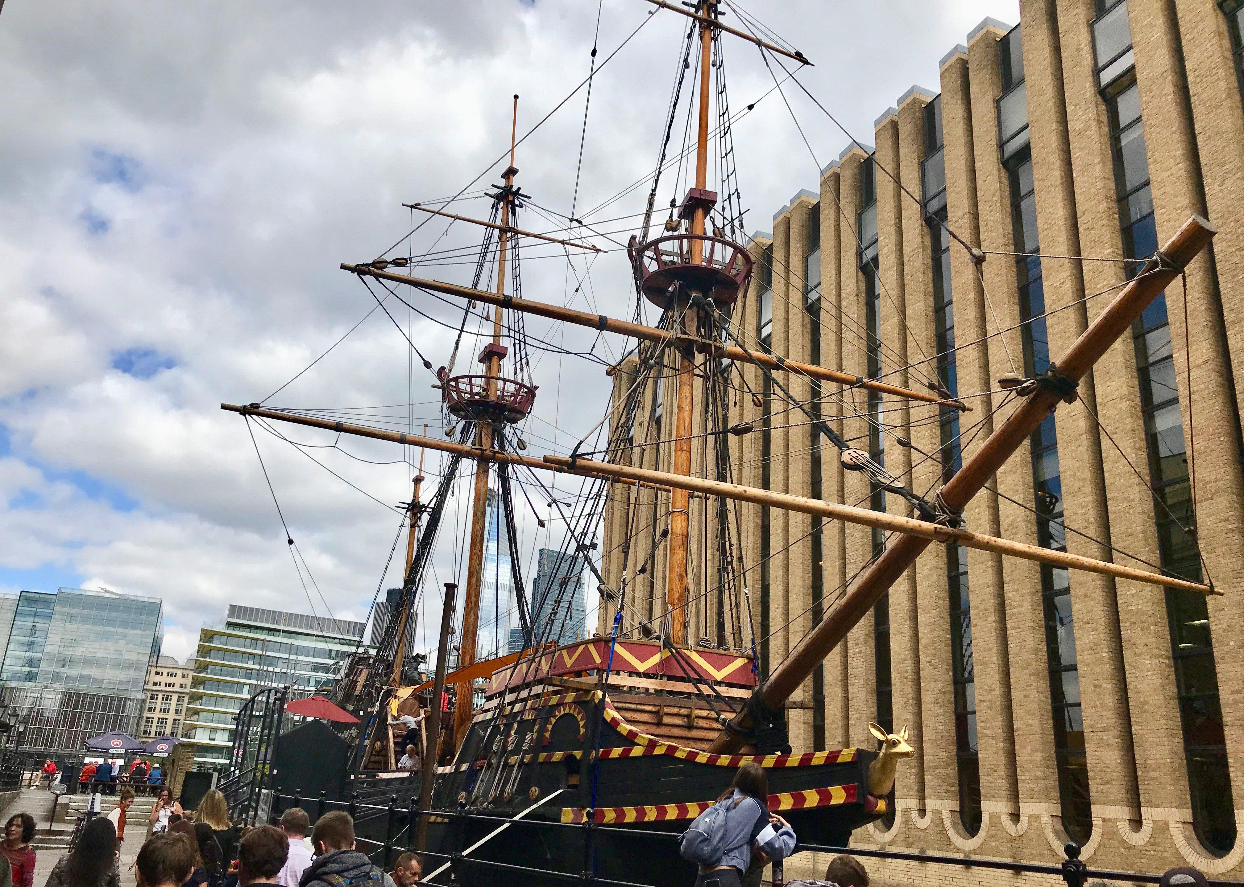 Golden Hinde Galleon London