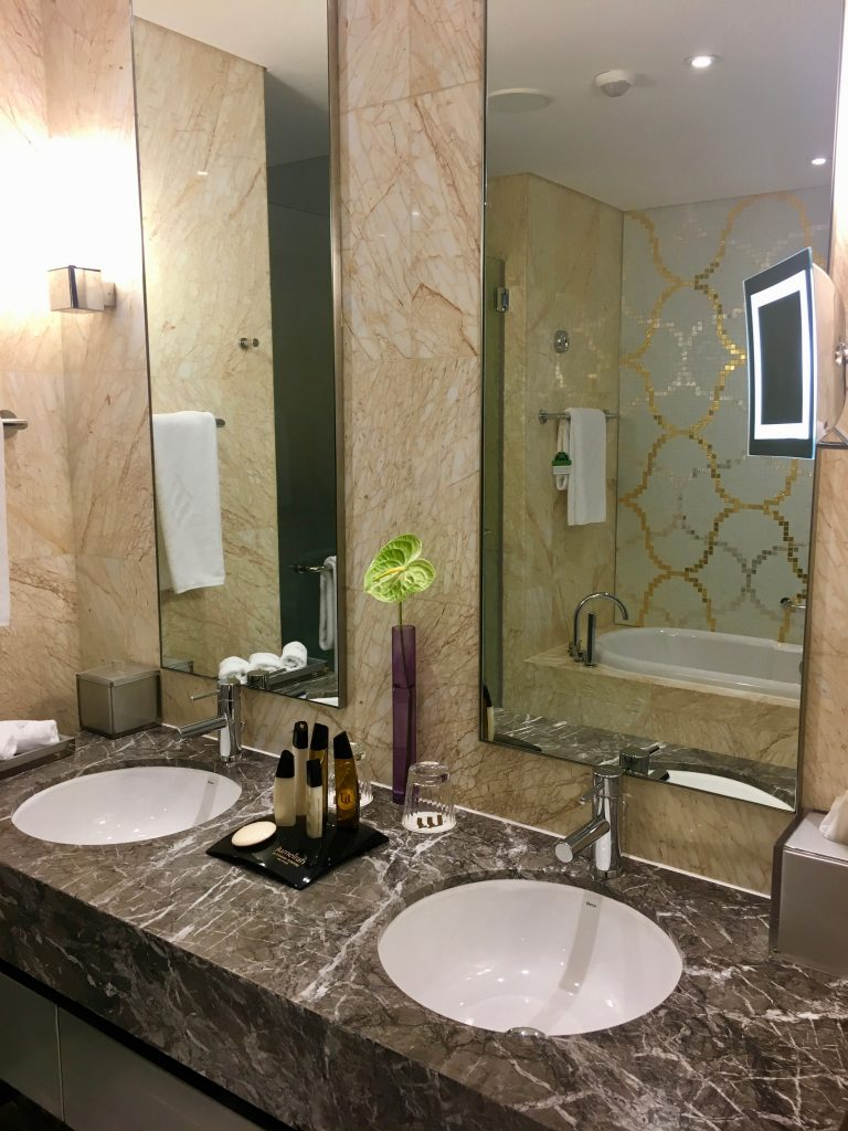 hotel bathroom