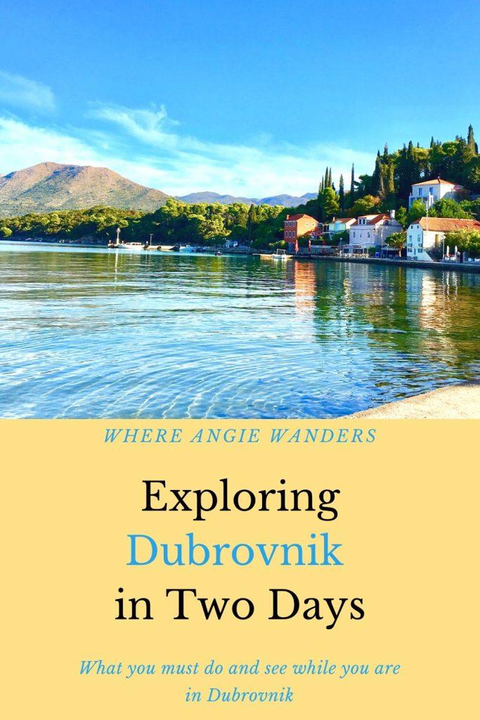 Dubrovnik island
