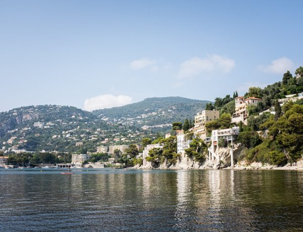 Coastline of Cote D'Azur