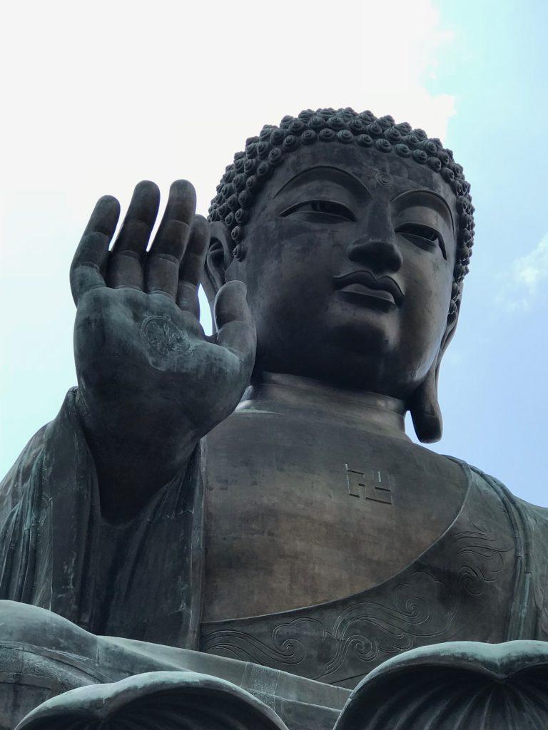 Big Buddha at Lantau monastery
