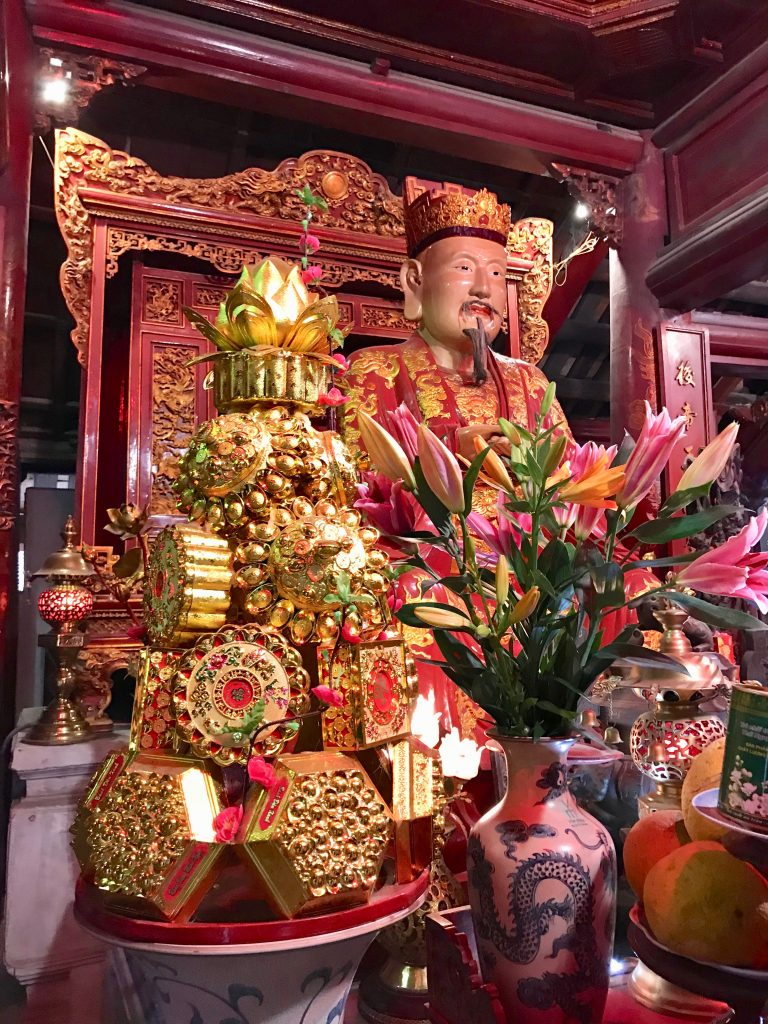 Vietnamese Deity in the temple