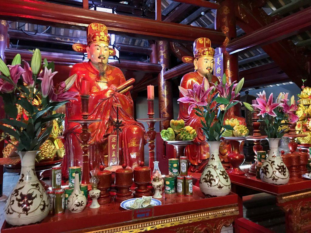 Statues of Vietnamese gods