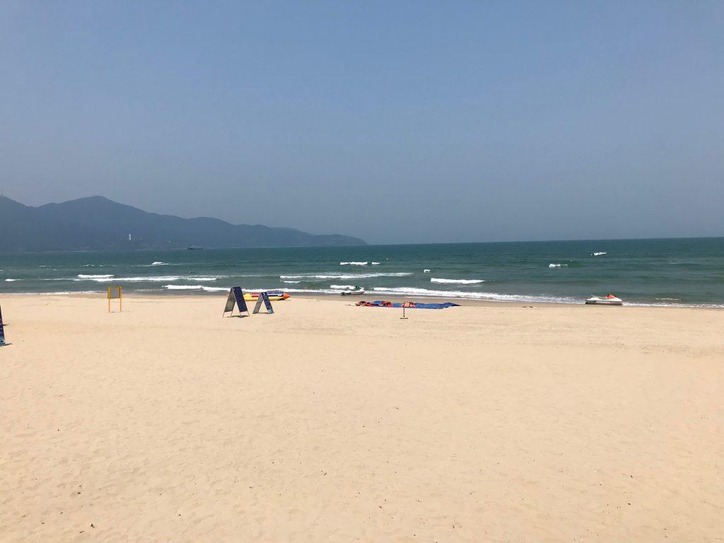 The beach at Non-Nuoc in Vietnam
