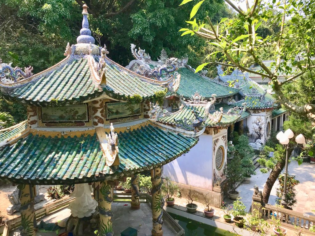 Pagodas in the marble Mountains