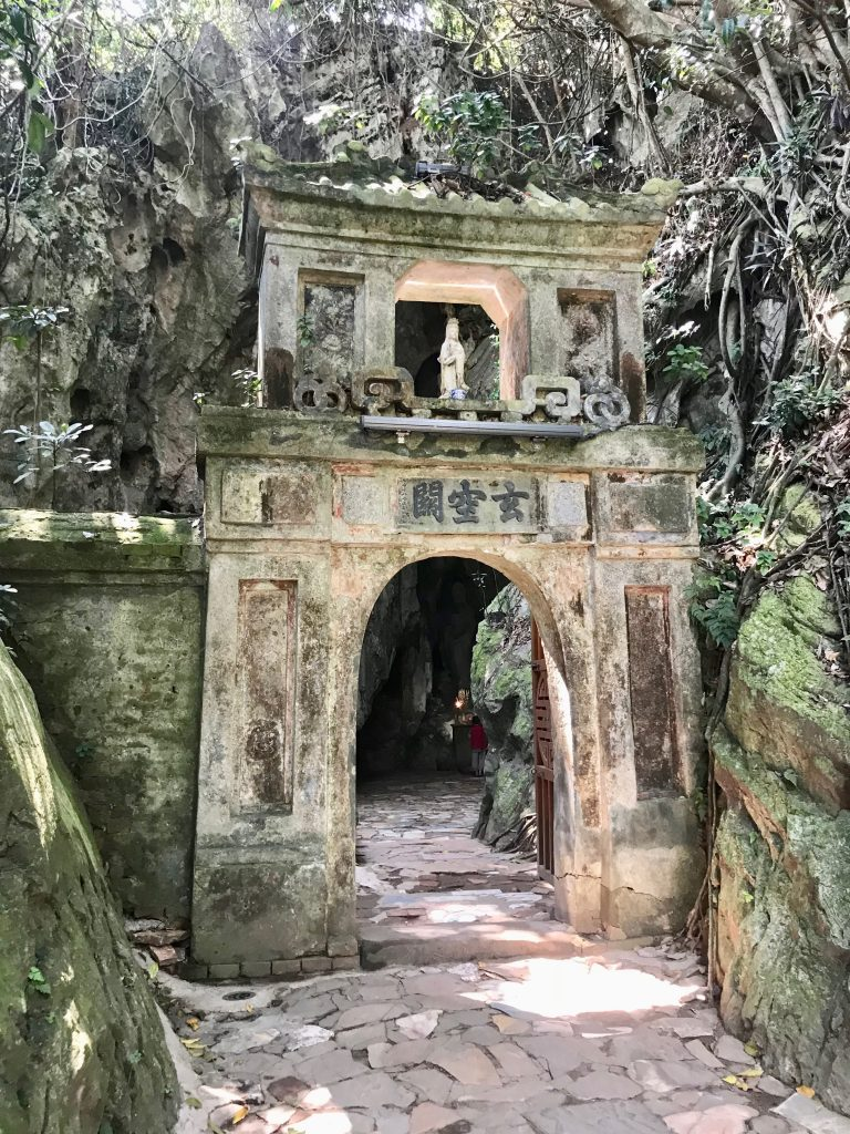 Entrance to the cave of Quan Am