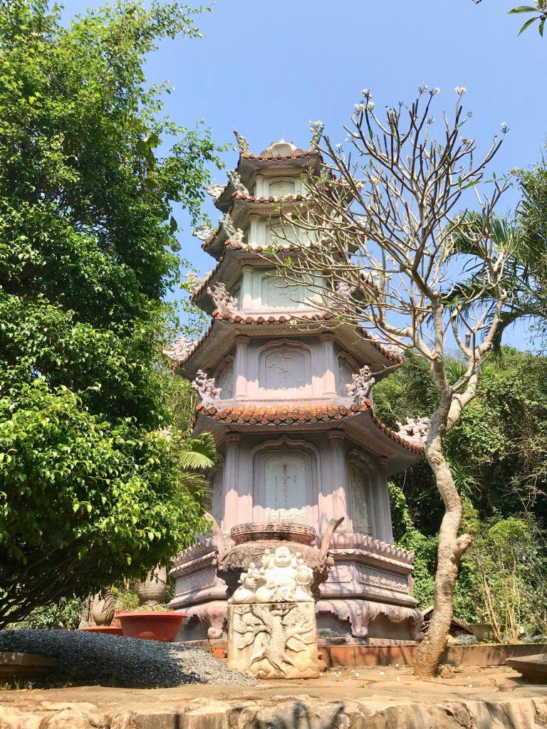 5 sided pink pagoda