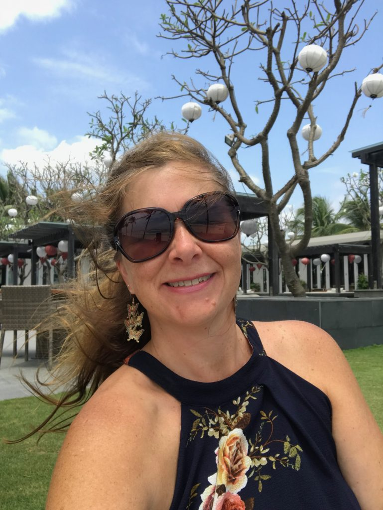 A photo of Angie at Naman Retreat