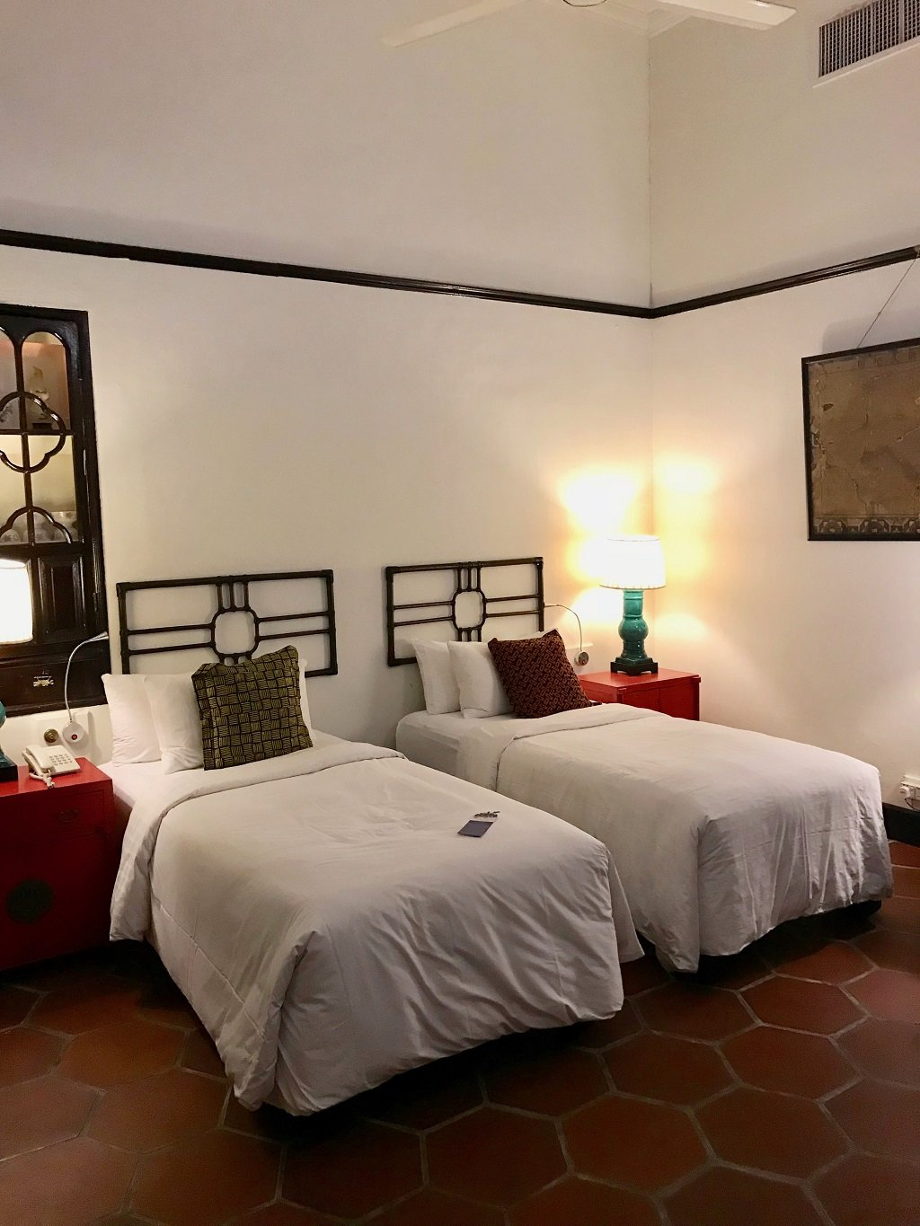Ming collection twin bedroom