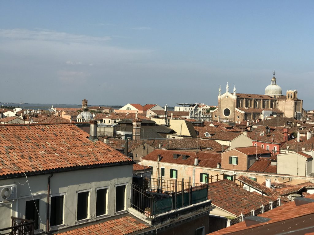 rooftop view of venice