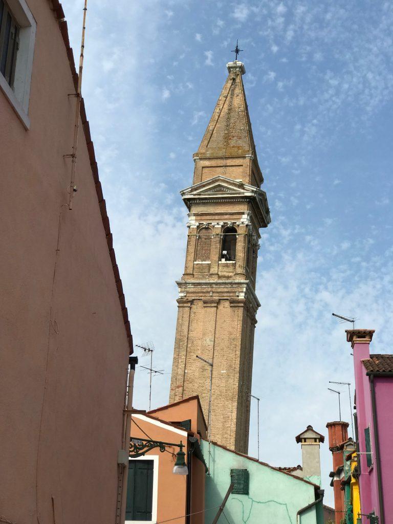 san martino leaning tower, Burano