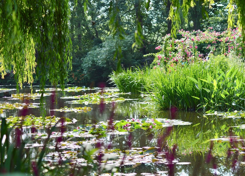 Japanese water garden in Giverny