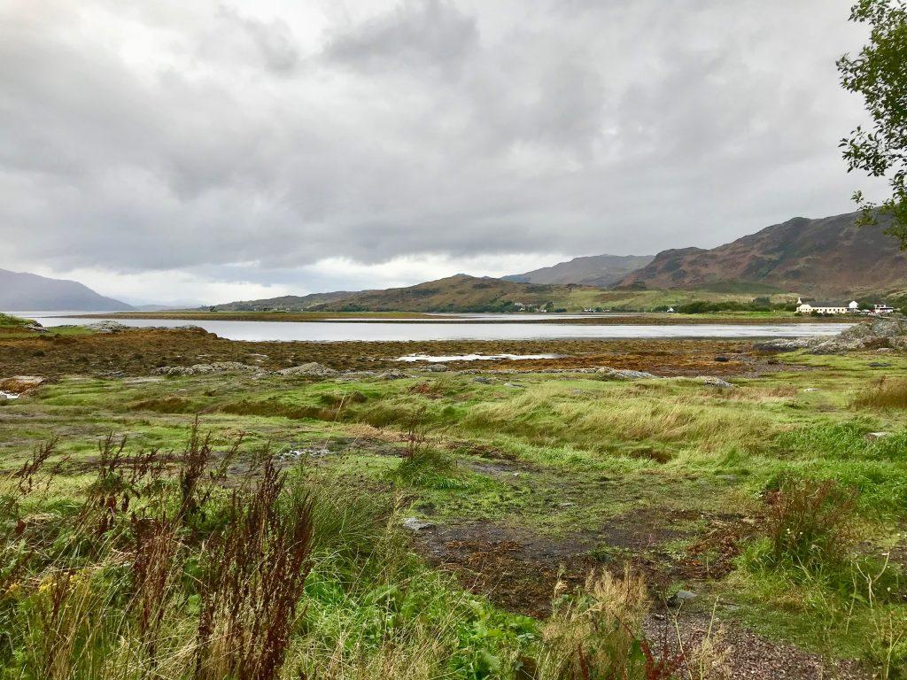 View Across of Eileen Donan Castle