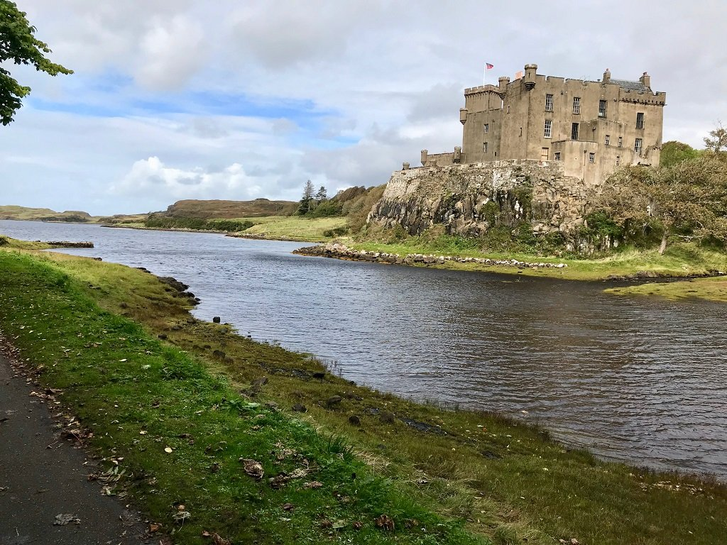 Dunvegan Castle and loch on the Isle of Skye