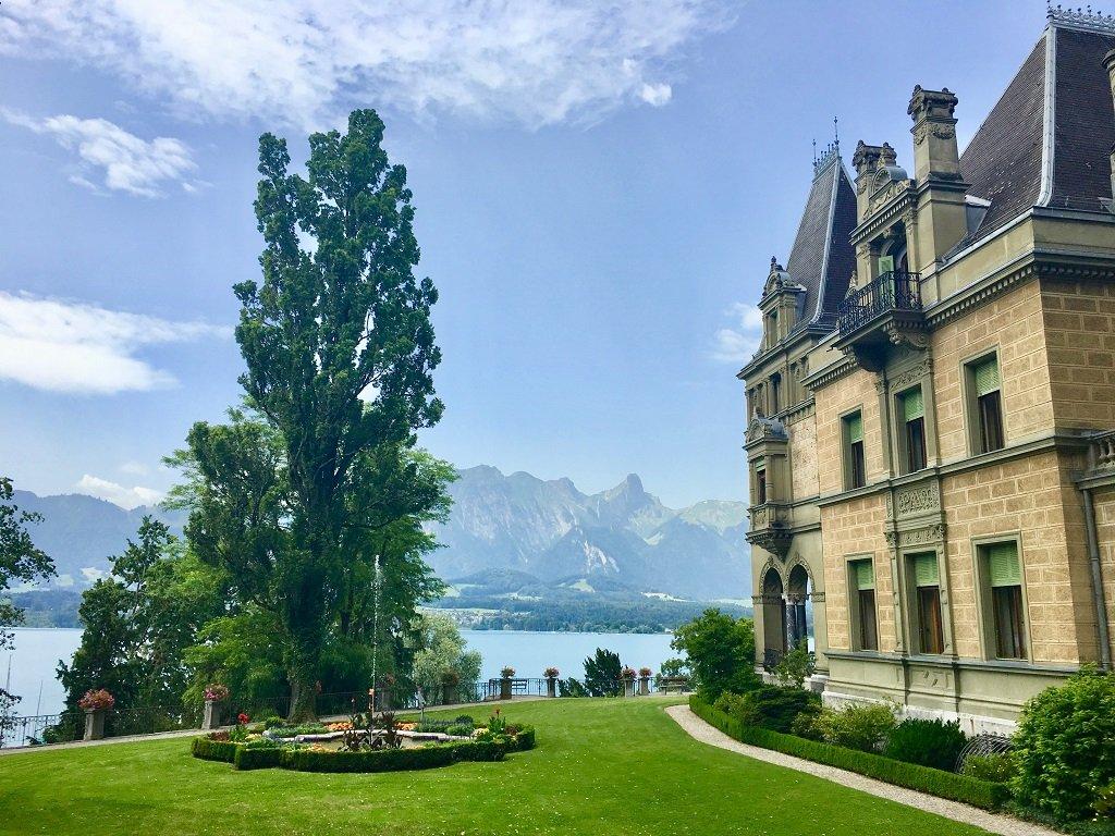 Castle Hunegg, Switzerland