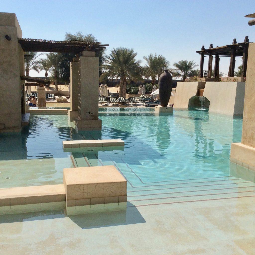 swimming pool at Bab Al Shams