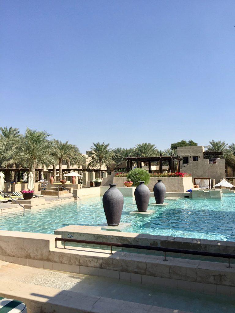 swimming pool at bay al shams