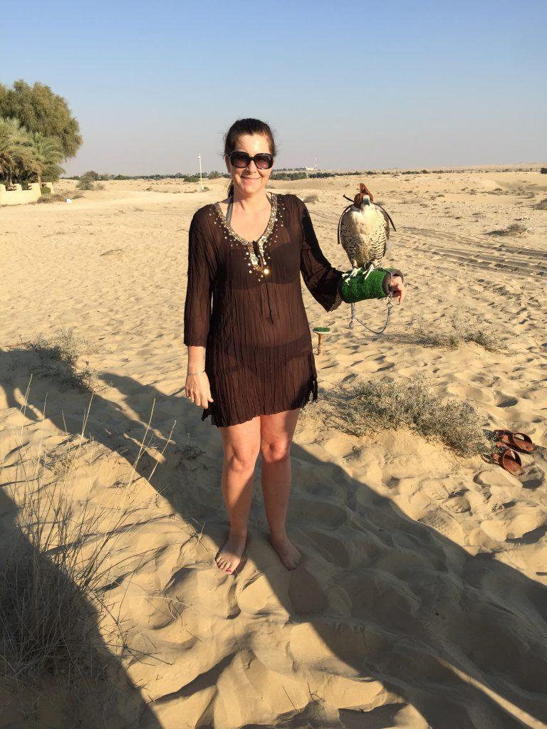 Falcon Handling at Bab Al Shams