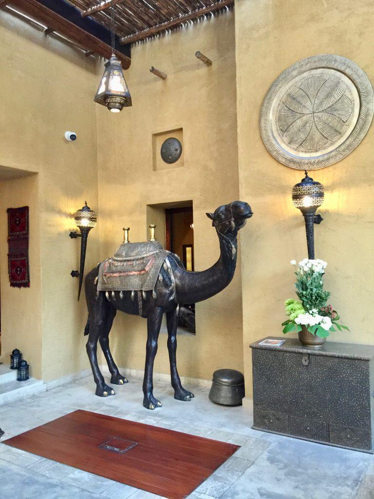 Ornaments in Bab al shams