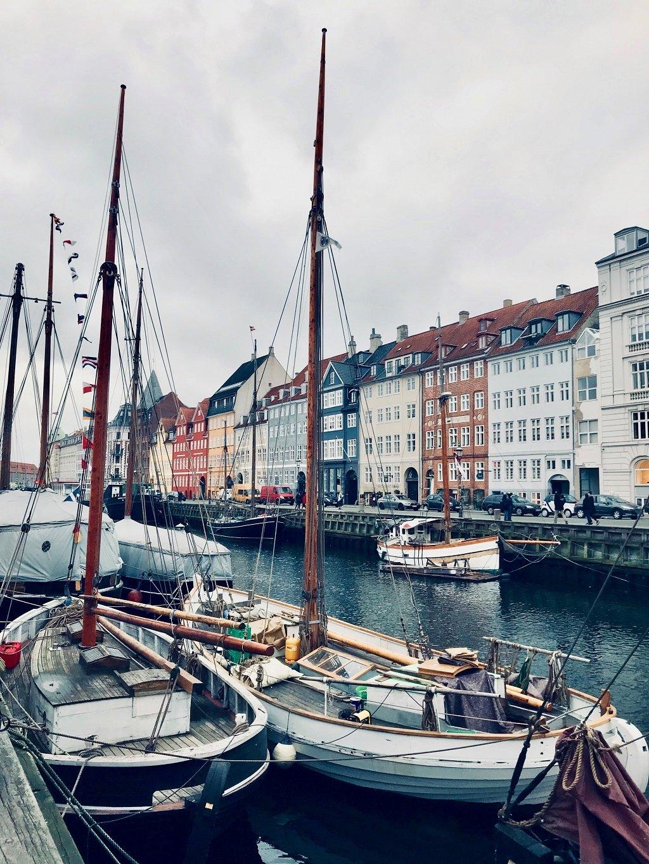 boats in Nyhavn