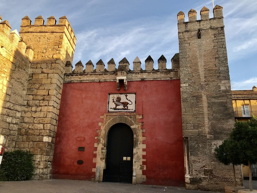 Alcazar Seville Entrance