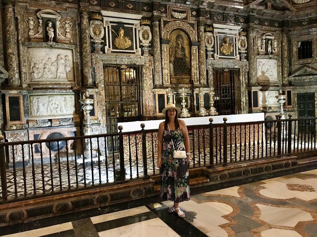 Retrochoir Seville Cathedral interior