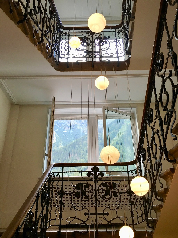 Black Metal Stairwell
