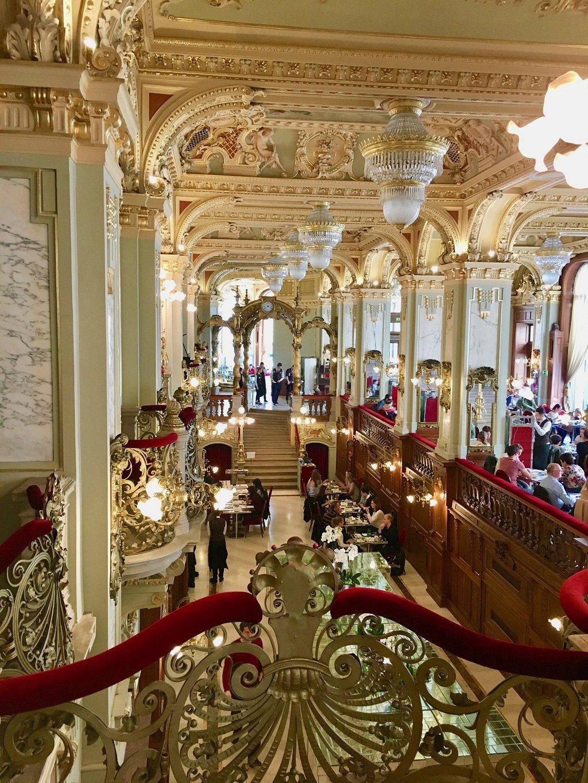 Interior of New York Cafe Budapest