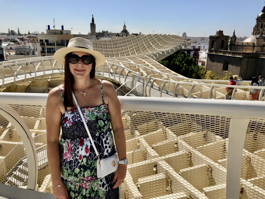 Wooden structure Seville