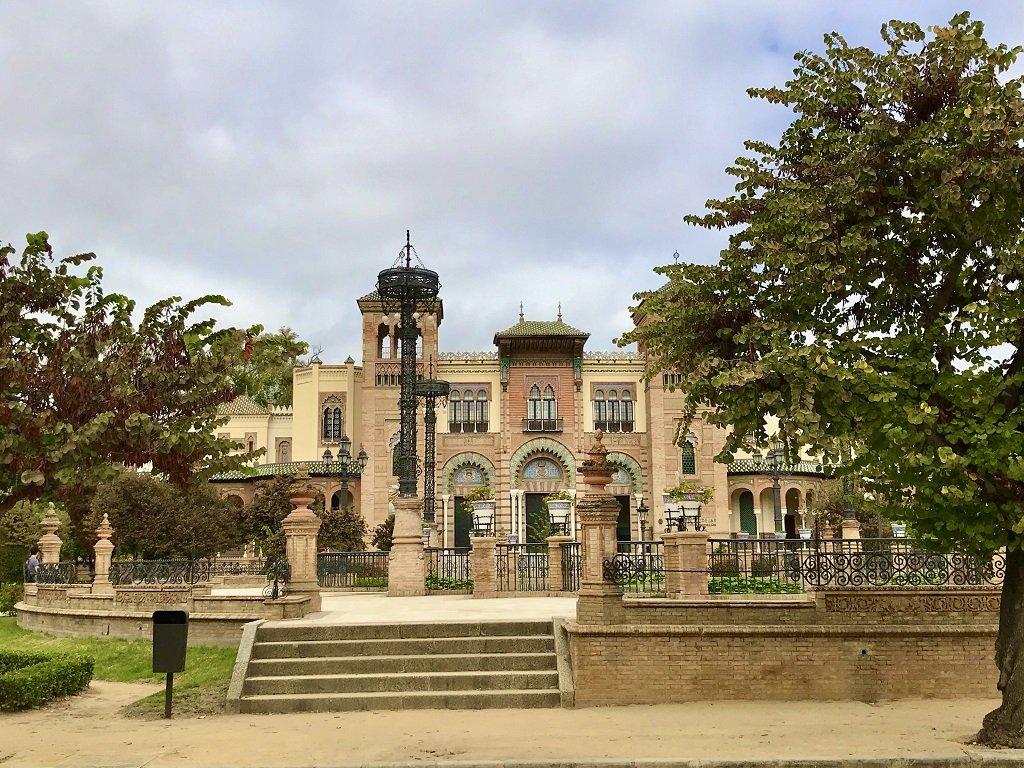 A Moorish influenced building housing Seville's Museum