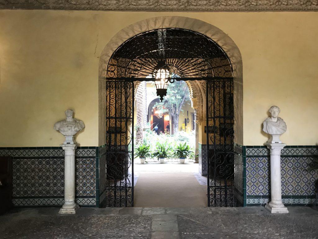 Intricate Door Arch