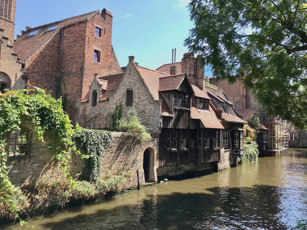 A city break to the European town of Bruges with its medieval houses and canals
