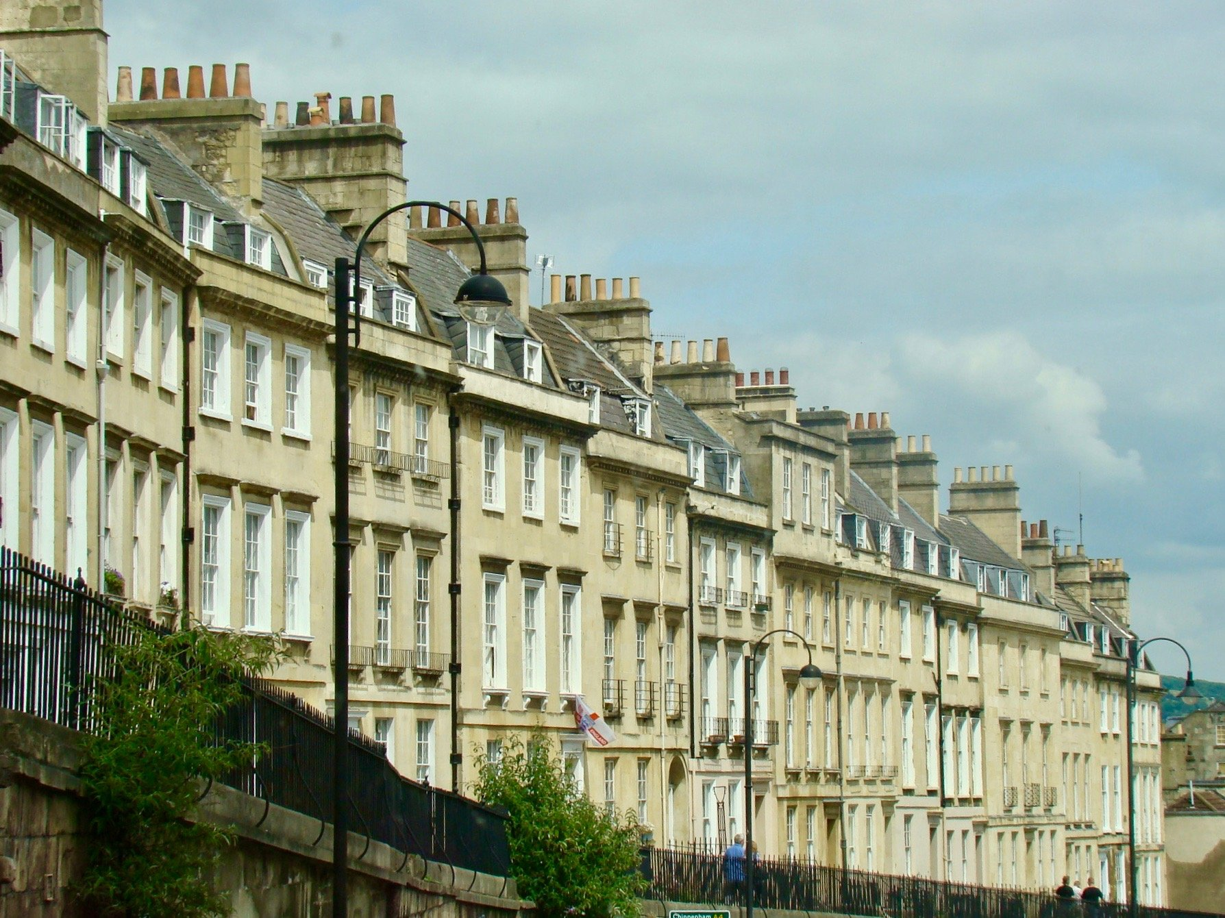 Georgian houses in Bath