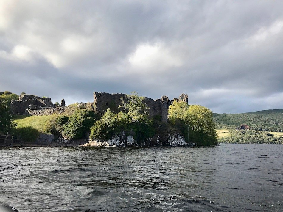 Urquhart Castle viewed from the water