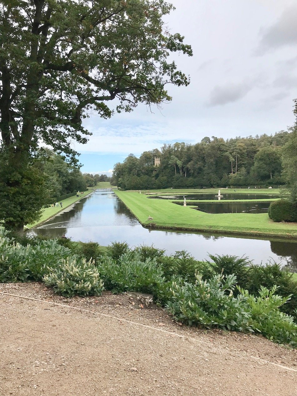 Studley water within fountains abbey