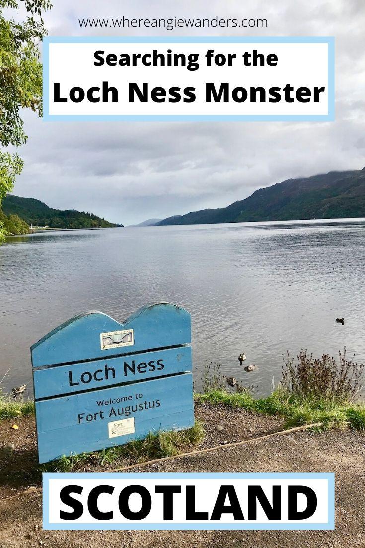 pinterest Loch Ness