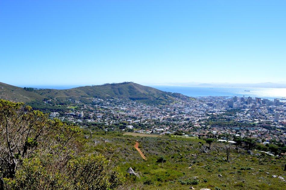 A view cross Cape Town