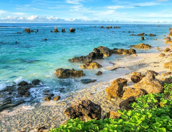 View of the beach at Nauru