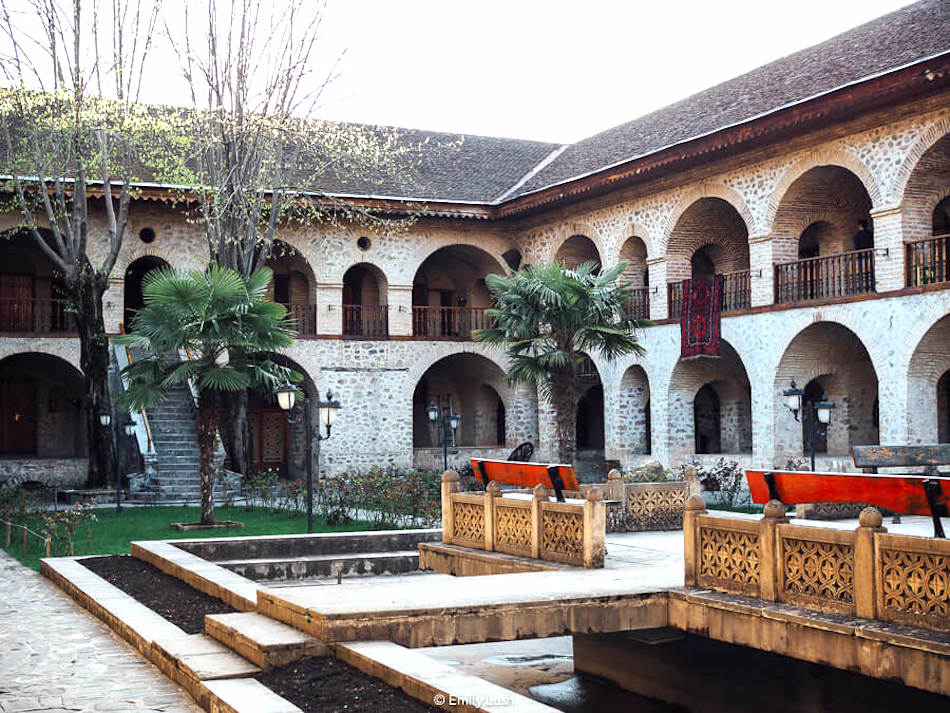 A caravanserai is one of the most unusual places to stay in Asia.