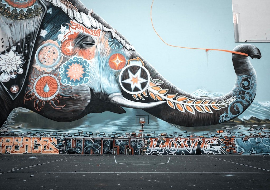 Berlin Art of Elephant