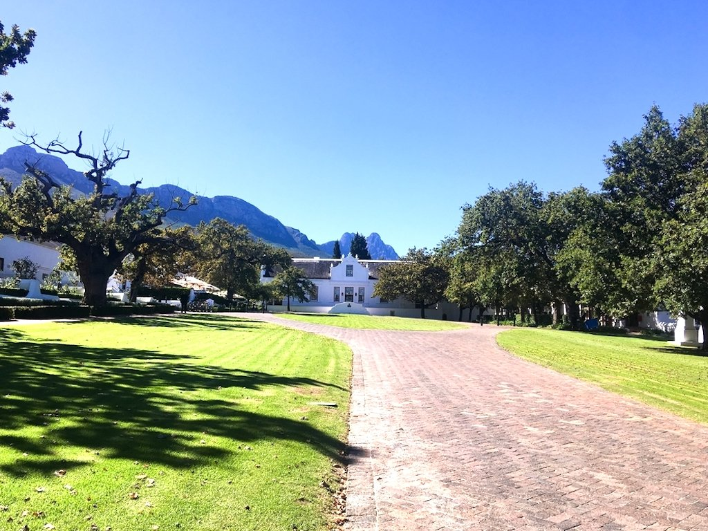 Lanzerac Wine Estate in the Cape Winelands