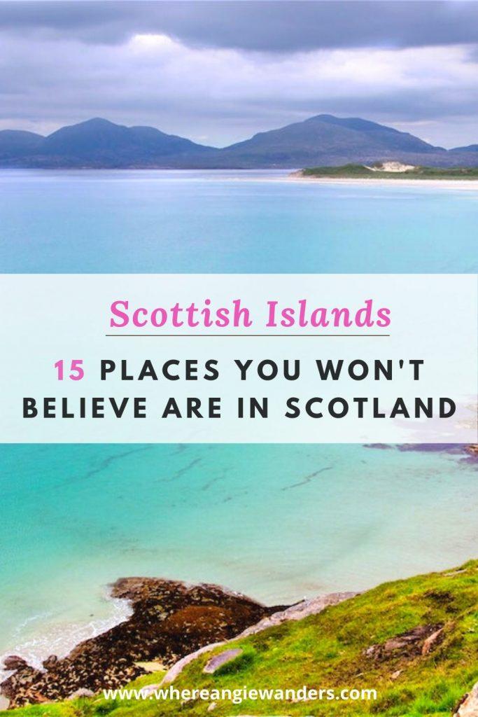 Pinterest Graphic of Scottish locations