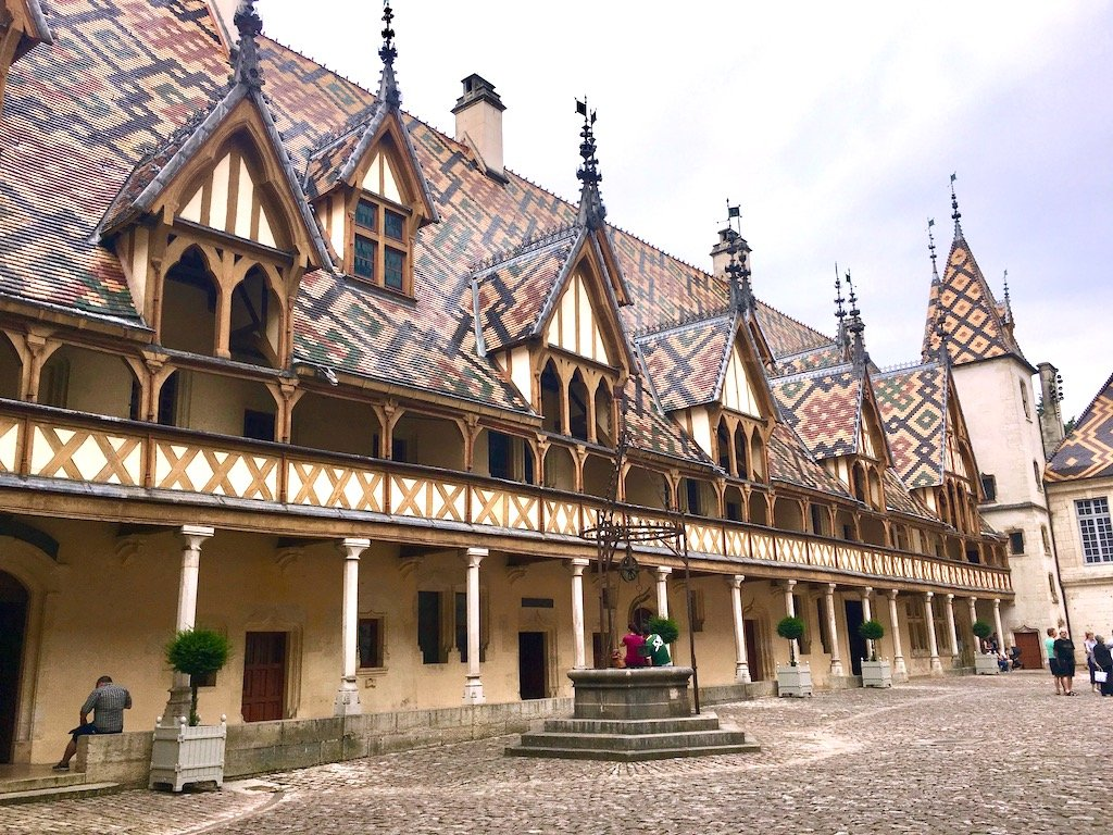 outer building of Hospices de Beaune