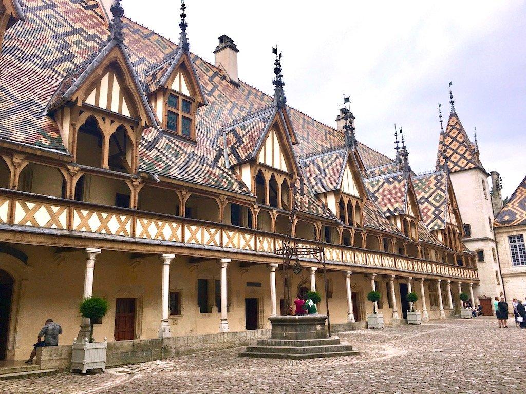 outer building of Hospices de Beaune