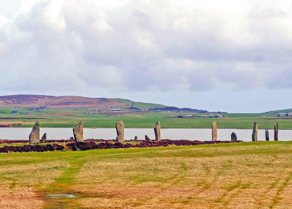 Orkney Island Stone monoliths