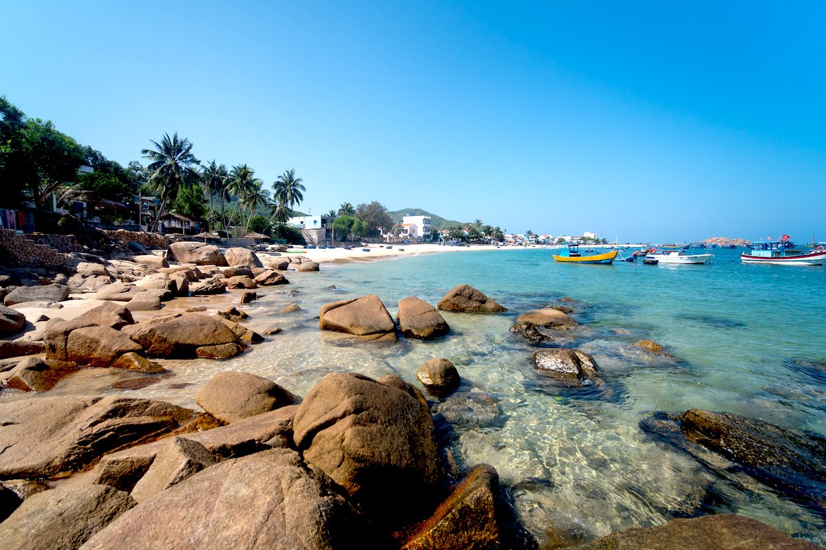 Beach at Qui Nhon