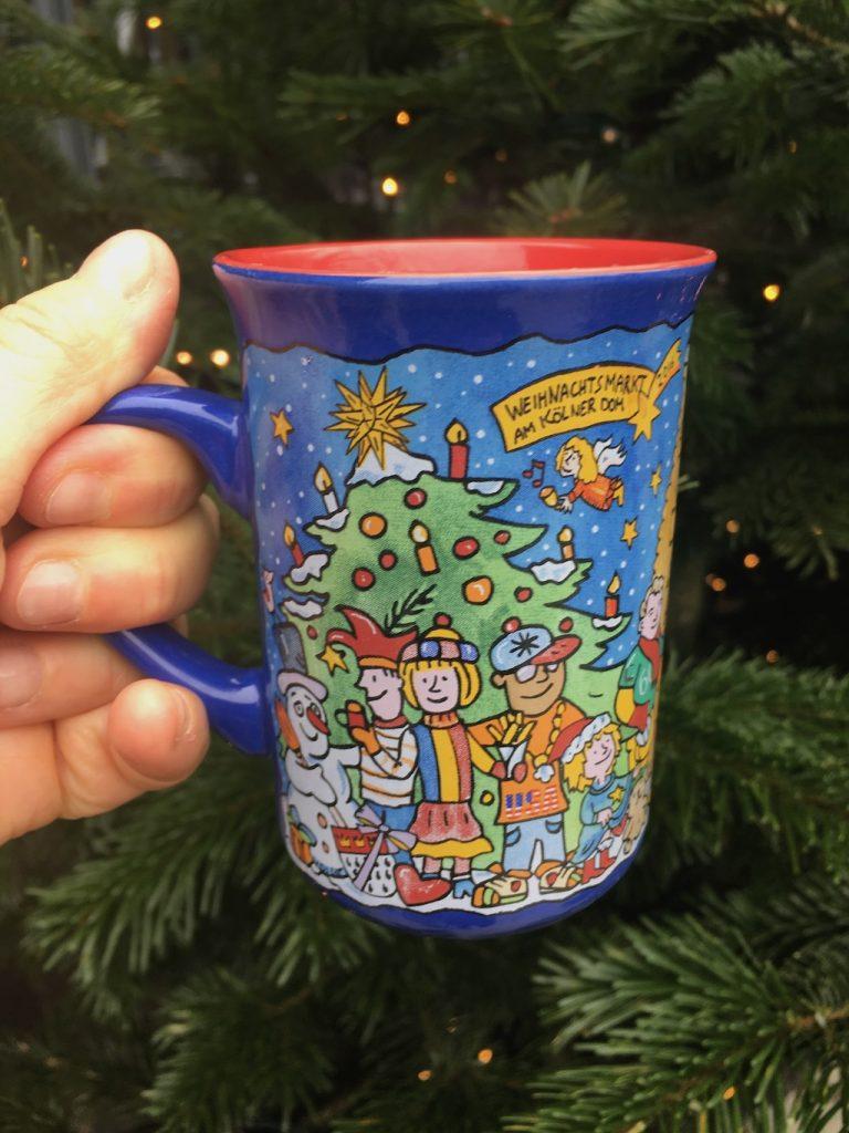 Christmas Mug with Gluhwein