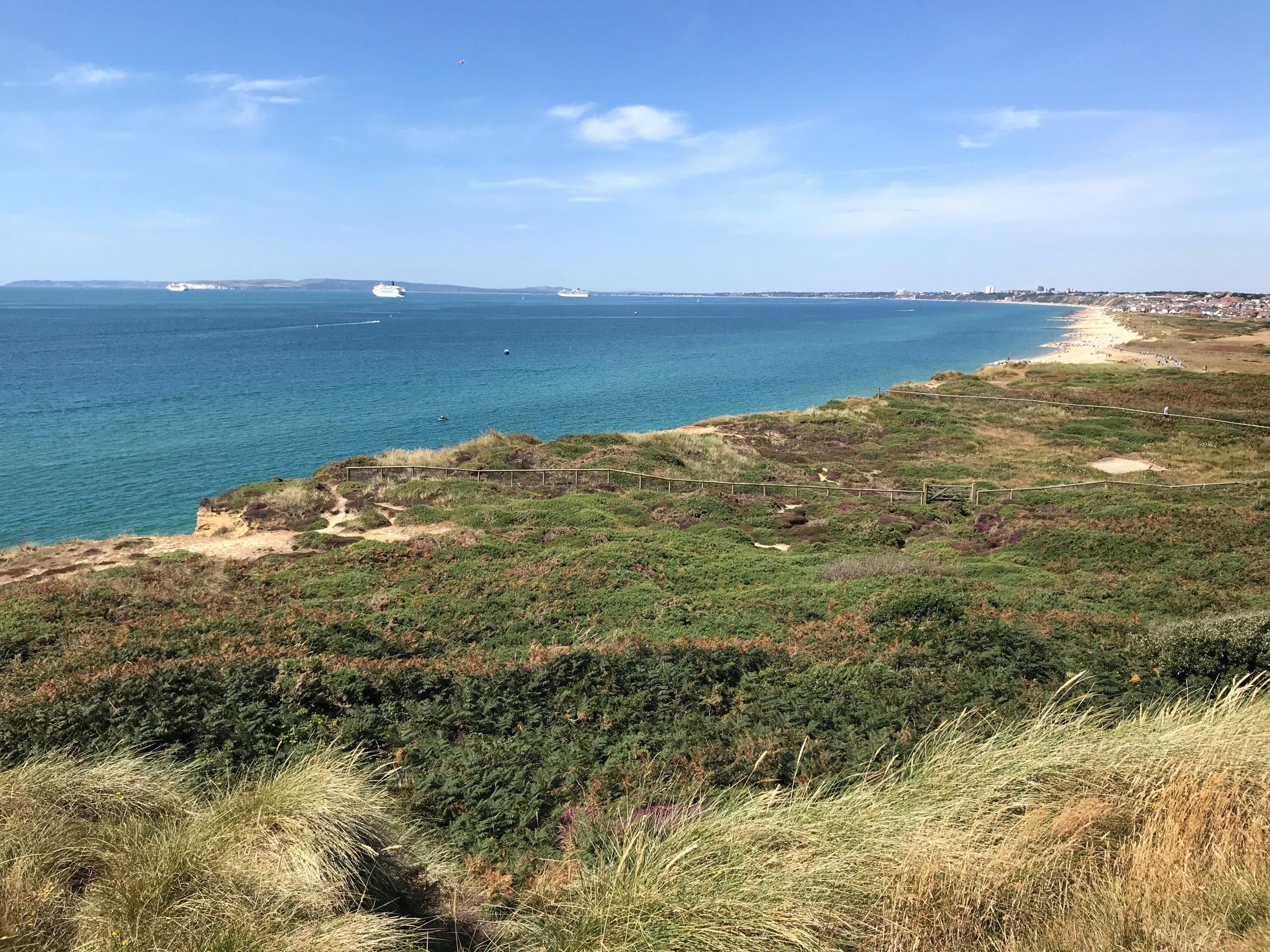 Hengistbury Headland and Beach