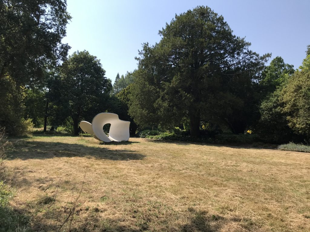Surrealist sculpture in Spring Garden